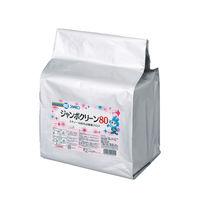 三興化学工業 ジャンボクリーン80詰替用 詰替用 940510 1袋(300枚入)