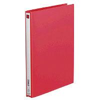 キングジム リングファイル(エコノミータイプ) A4タテ 背幅27mm赤 611 1箱(40冊:10冊入×4箱) (直送品)