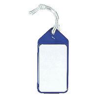 ネームタッグ ブルー ASC805BL 1袋(5枚入) 共栄プラスチック (直送品)
