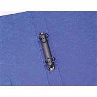 リヒトラブ 2穴リングファイル A4タテ 背幅35mm 縦306×横238mm 藍 F803-5 (直送品)