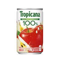 キリンビバレッジ トロピカーナ 100%アップル 160g 1セット(60缶:30缶入×2箱)