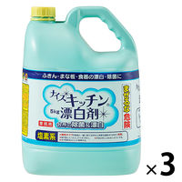 ナイス キッチン漂白剤 5kg 1箱(3個入)