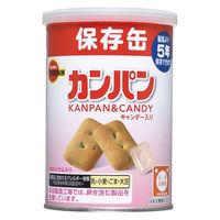 """""""非常食 缶入カンパン(キャップ付) 975196 1ケース(24缶入:100g×24缶) ブルボン"""""""