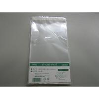 伊藤忠リーテイルリンク OPP袋(テープ付き)横150×縦250+フタ40mm 透明封筒 1セット(1000枚:100枚入×10袋)