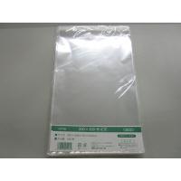 伊藤忠リーテイルリンク OPP袋(テープ付き)横200×縦300+フタ40mm 透明封筒 1セット(500枚:100枚入×5袋)
