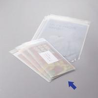 伊藤忠リーテイルリンク OPP袋(片面ホワイト印刷加工) 0.04mm厚 テープ付き 長形3号封筒サイズ 1セット(500枚:100枚×5袋)