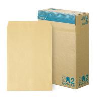 アスクル オリジナルクラフト封筒 角2(A4) 茶 600枚(200枚×3箱)