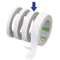 ニトムズ 再はく離一般両面テープ はがせるタイプ No.5000NS 幅20mm×長さ20m J1370 1箱(15巻入)