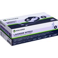 ハリヤード・ヘルスケア・インク ラベンダーニトリル検査用グローブ S 52817 1箱(250枚入)