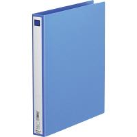 キングジム リングファイル(エコノミータイプ) A4タテ 背幅33mm青 612 1箱(40冊:10冊入×4箱)
