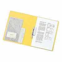リヒトラブ スーパーパンチレスファイル A4タテ 黄 F347U 1セット(30冊:10冊入×3箱) (直送品)