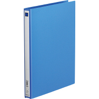 キングジム リングファイル(エコノミータイプ) A4タテ 背幅27mm青 611 1箱(40冊:10冊入×4箱)