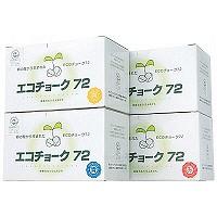 エコチョーク 赤 TGNECO2 1箱(72本入) 日本白墨工業 (取寄品)