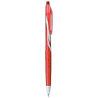 ぺんてる 油性インク ノック式 VICUNA(ビクーニャ) 0.7mm 赤 BX157-B 1セット(10本入り) (直送品)