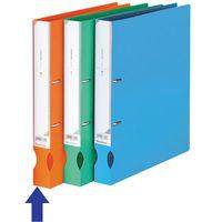 ビュートン D-リングファイル A4タテワイド 背幅34mm オレンジ IDF-A4-OR 1箱(30冊:10冊入×3箱) (直送品)