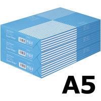 コピー用紙 マルチペーパー スーパーホワイト+ A5 1セット(1500枚:500枚入×3冊) 高白色 アスクル