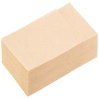 イデシギョー 植林木6つ折り 紙ナプキン 未晒し 1箱(10000枚:100枚入×100袋)