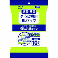 朝日電器 ELPA(エルパ) 各社共通 掃除機紙パック SOP-10AK 10枚入×3袋