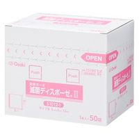 オオサキメディカル 滅菌ディスポーゼ3 5×5cm 15180 1箱(50枚入)
