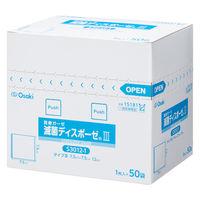 オオサキメディカル 滅菌ディスポーゼ3 7.5×7.5cm 15181 1箱(50枚入)