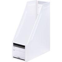 ボックスファイル組み立て式 A4タテ 3冊 PP製 クリア セリオ