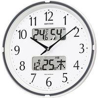 リズム時計(RHYTHM) フィットウェーブリブ [電波 掛け 時計] 4FYA07SR03 1個