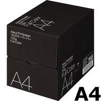 フルカラー印刷対応 マルチペーパー フルカラーペーパー 105g A4 1箱(2000枚:500枚入×4冊) 国内生産品 FSC認証 アスクル