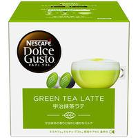 ネスカフェ ドルチェグスト専用カプセル 宇治抹茶ラテ 1箱(8杯分)【カプセル】