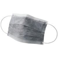 川西工業 活性炭マスク ホワイト フリー #7029 1セット(200枚)