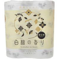 トイレットペーパー 4ロール入 パルプ ダブル 30m 白檀の香り 1パック(4ロール入) 四国特紙
