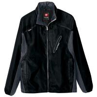 アイトス フードインジャケット(男女兼用) ブラック AZ10301-110-4L (直送品)