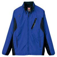 アイトス フードイン中綿ジャケット ブルー AZ10304-006-L (直送品)