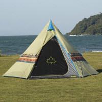 LOGOS ナバホ Tepee 400 71806500 寸法:約幅400×奥行345×高さ235cm ロゴスコーポレーション (取寄品)