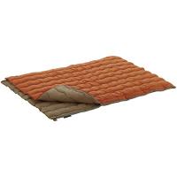 2in1・Wサイズ丸洗い寝袋・2 72600680 寸法:約幅75×長さ185cm(1枚あたり) ロゴスコーポレーション (取寄品)