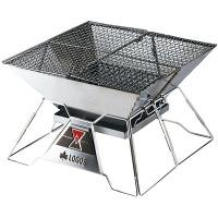 焚火ピラミッドグリルEVO-L 81064102 寸法:約幅39×奥行39×高さ26cm ロゴスコーポレーション (取寄品)
