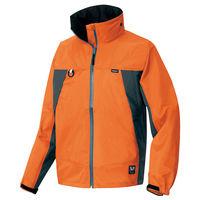 アイトス 全天候型ジャケット(ディアプレックス) オレンジ×チャコール AZ56301-063-3L (直送品)