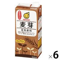マルサン 麦芽豆乳 1000ml 6本