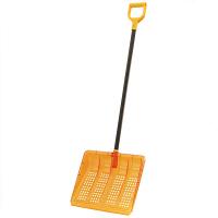 ポリカワイド雪かきヘッド+棒セット 1セット(雪かき道具)
