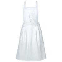 ミズノ ユナイト エプロン(男女兼用) ホワイト M MZ0027 予防衣 1枚 (取寄品)