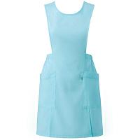 ミズノ ユナイト エプロン(男女兼用) ライトブルー L MZ0060 予防衣 1枚 (取寄品)