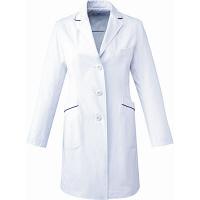 ミズノ ユナイト ドクターコート(女性用) ホワイト L MZ0107 医療白衣 診察衣 薬局衣 1枚 (取寄品)