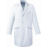 ミズノ ユナイト ドクターコート(男性用) ホワイト S MZ0108 医療白衣 診察衣 薬局衣 1枚(取寄品)