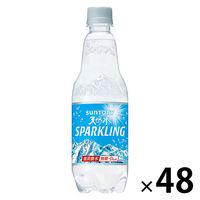 サントリー 南アルプスの天然水スパークリング 500ml 1セット(48本)