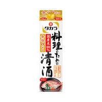 タカラ 本料理清酒 料理のための清酒 1.8L