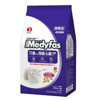 Medyfas(メディファス) キャットフード 11歳から 老齢猫用 チキン味 1.5Kg(300g×5袋) 1個 ペットライン