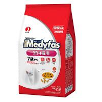 Medyfas(メディファス) キャットフード インドアキャット 7歳から 高齢猫用 チキン&フィッシュ味 1.4Kg(280g×5袋) 1個 ペットライン