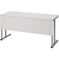 プラス TMユニットテーブル2  ホワイト 幅1500×奥行600×高さ720mm 1台(2梱包) (取寄品)