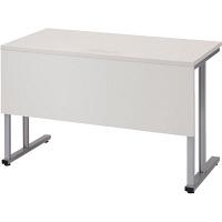 プラス TMユニットテーブル2  ホワイト 幅1200×奥行600×高さ720mm 1台(2梱包) (取寄品)