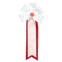 ササガワ 記章 大五方 白白 38-252 1箱(50個入) (取寄品)