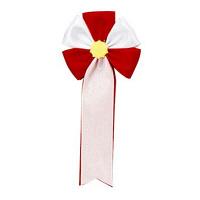 ササガワ 記章 五方 赤白 38-260 1箱(100個入) (取寄品)